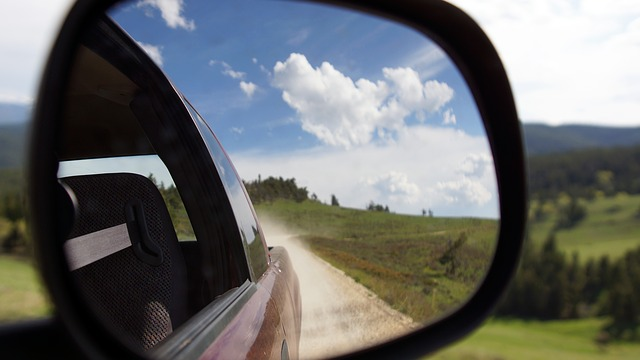 Tipos y clases de retrovisores en un vehículo