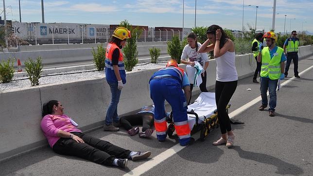 Como realizar los primeros auxilios en caso de accidente de tráfico