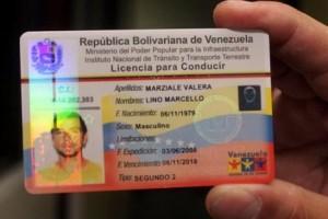 canje permiso venezuela